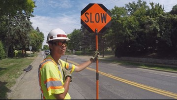 Work zone flaggers can turn you in now