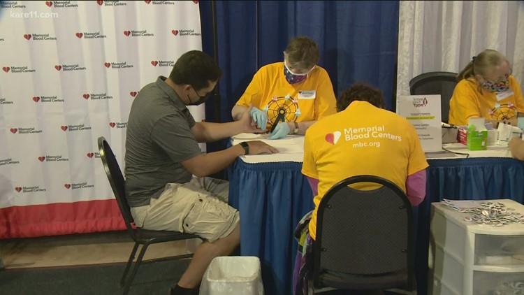 Health Fair 11 at the Fair: Memorial Blood Centers returns for 20th year