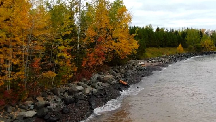 Minnesota leaves may not be as bright this year, but the best fall foliage may be right next door