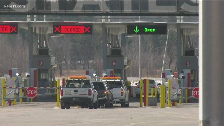 Northern Minnesota businesses anxiously waiting for Canadian border to re-open