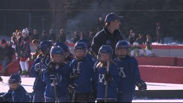 Outdoor hockey fun on Saturday