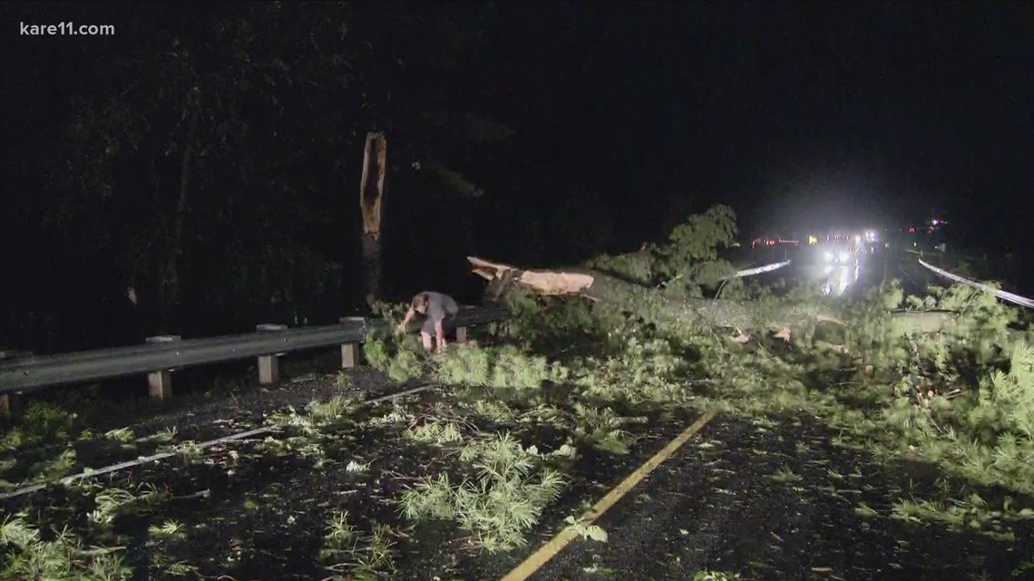 Western Wisconsin sees damage from storms