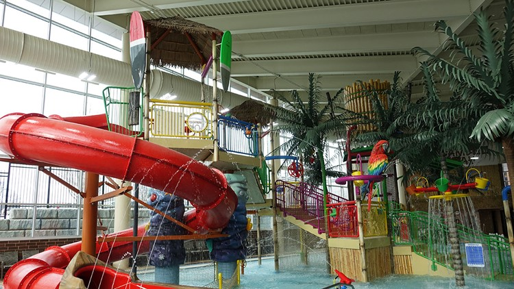 Shoreview Community Center water park, Bamboo Bay