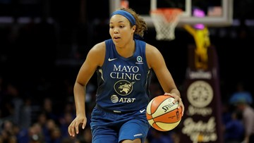 Lynx forward Napheesa Collier named WNBA Rookie of the Year