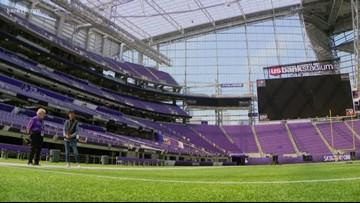 Touring the U.S. Bank Stadium with Bev