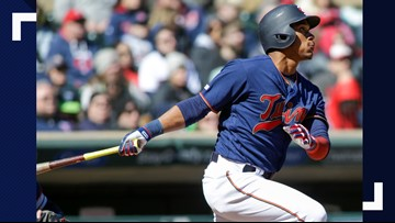 Indians escape bases-loaded jam in 9th, hold off Twins 2-1