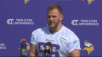 Bradbury, Samia impress at first Vikings rookie-camp