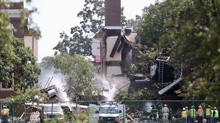 Minnehaha Academy building collapse