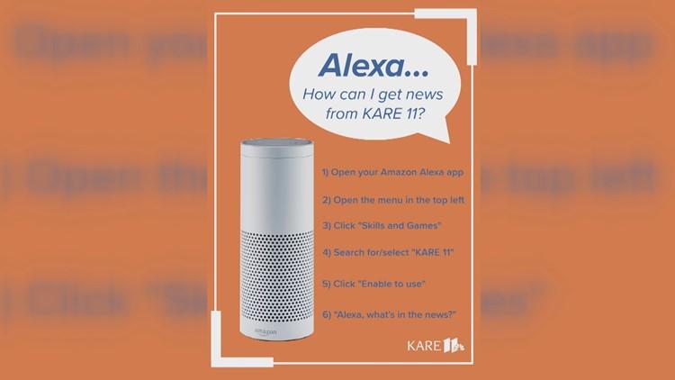 KARE 11 on Alexa
