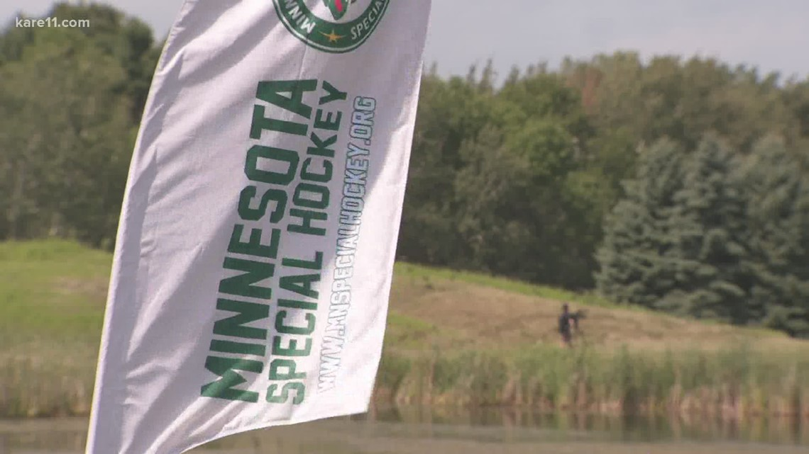 Wild players help support Hendrickson Foundation at golf outing