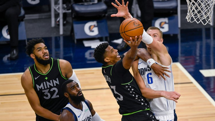 Porzingis scores 29, Mavericks beat Timberwolves