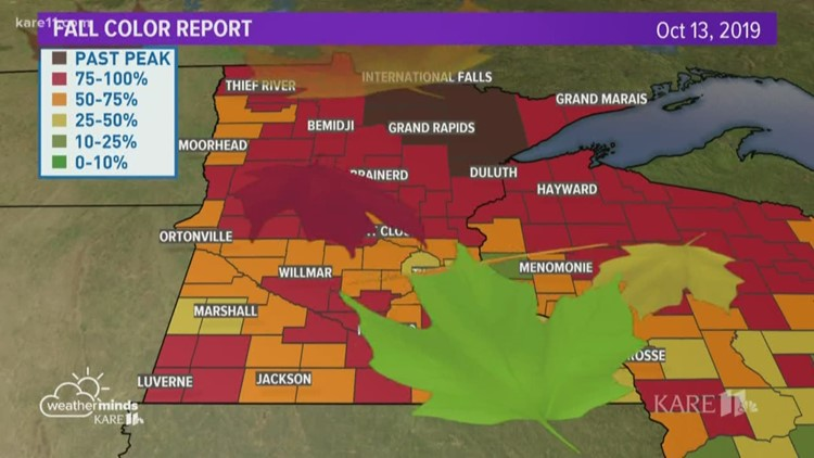 Weatherminds: Fall color report