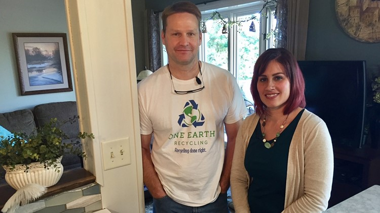 Jason and Angie Brogle are used to their son's passion for the environment