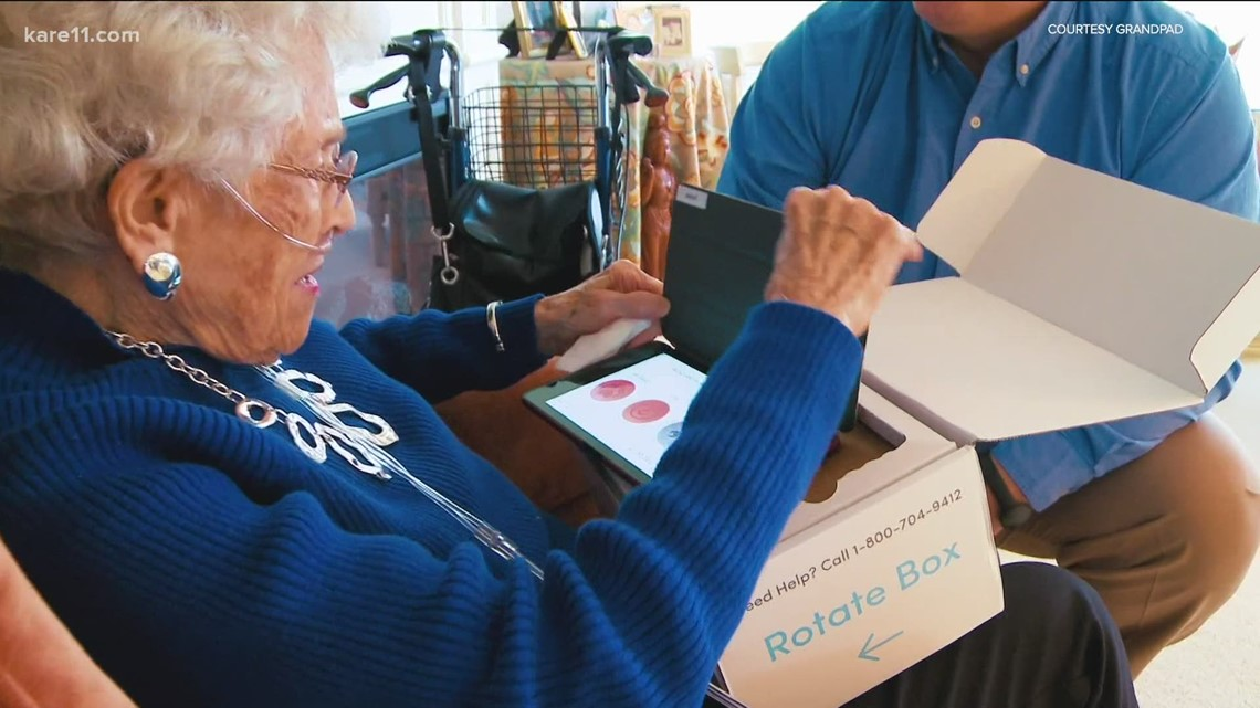Minnesota-based GrandPad helps seniors stay connected with their families