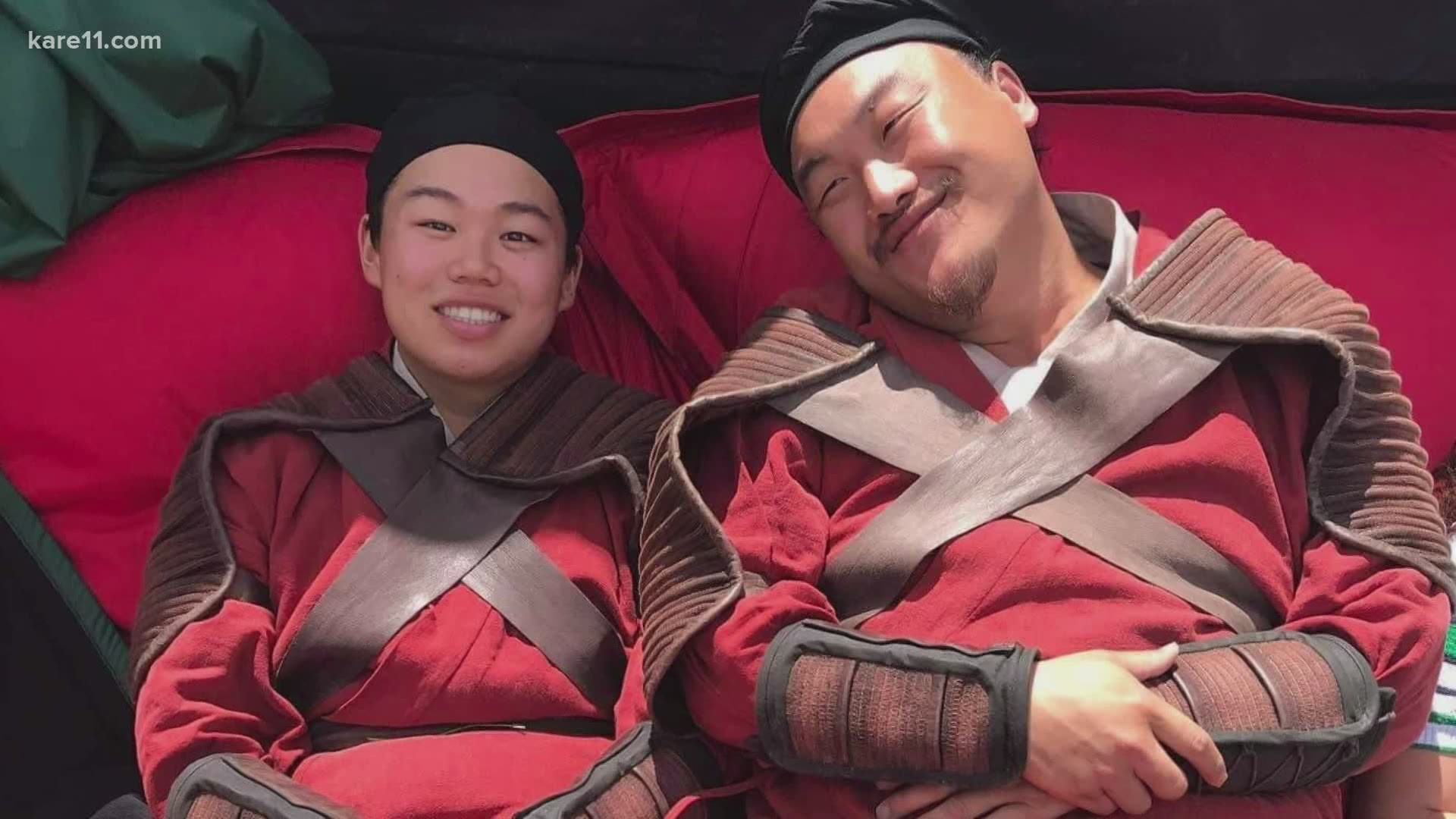 St Paul Actor Doua Moua Talks Live Action Mulan Kare11 Com