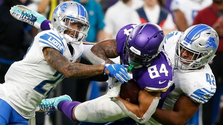 Defense delivers as Vikings sail past Lions 20-7