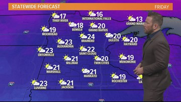 Late morning weather 12-7-2018