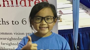 Vision screenings for kids at Health Fair 11