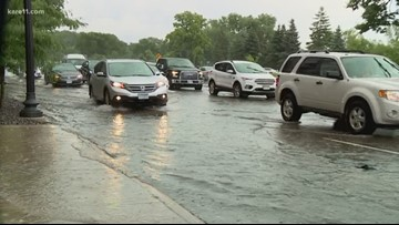 Minneapolis bracing for more rain after flash flooding