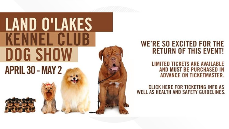 Land O'Lakes Kennel Club Annual Dog Show returns to St. Paul