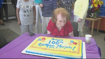 Beloved baker Marjorie Johnson turns 100