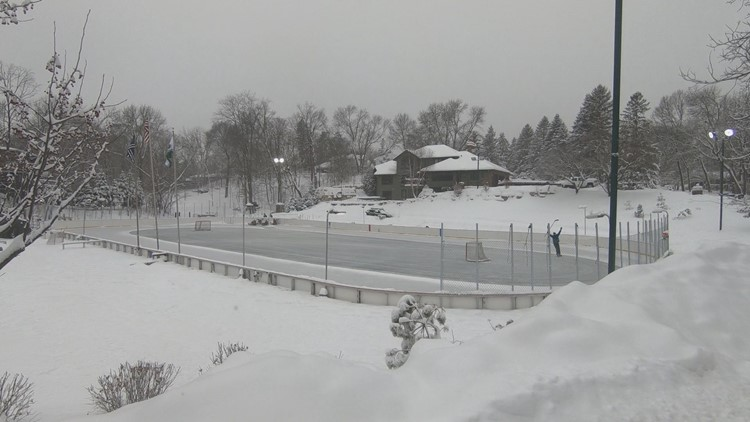 Explore the winter wonder of pond hockey