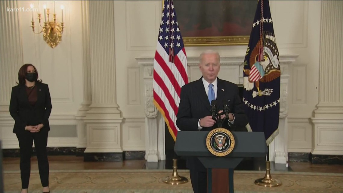 Biden: Vaccines available by May