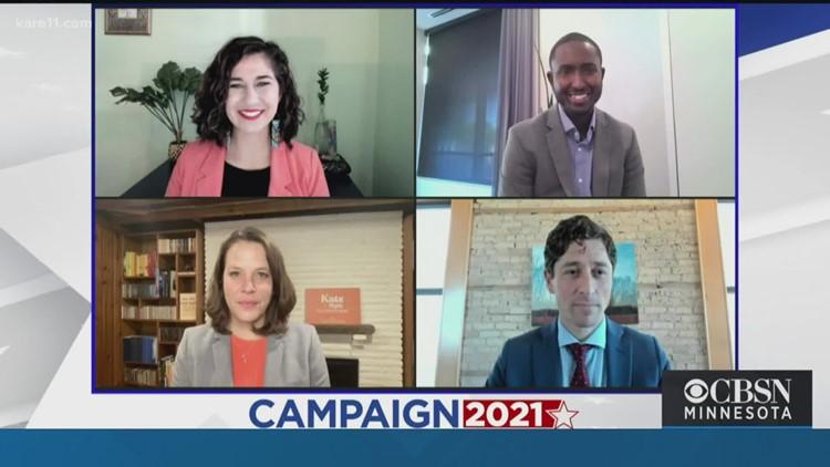 Top contenders in Minneapolis mayor's race debate ahead of election