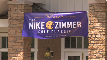 Mike Zimmer Foundation hosts inaugural golf outing