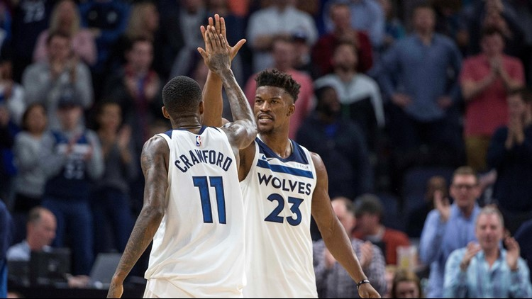 Kyrie Irving Claims He Hasn't Talked To Jimmy Butler About Free Agency