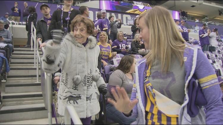 Vikings superfan Millie Wall dies at 102