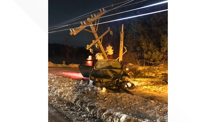 Overnight crash closes part of County Road 42 near Savage