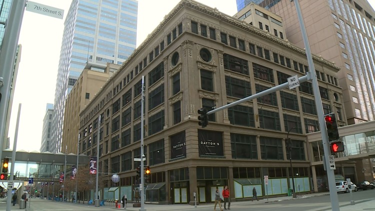 Former Dayton's department store in downtown Minneapolis. (Credit: KARE 11)