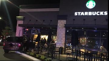Car crashes into Eagan Starbucks