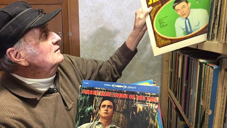 Bob Knutson shelves some of his 17,000 record albums