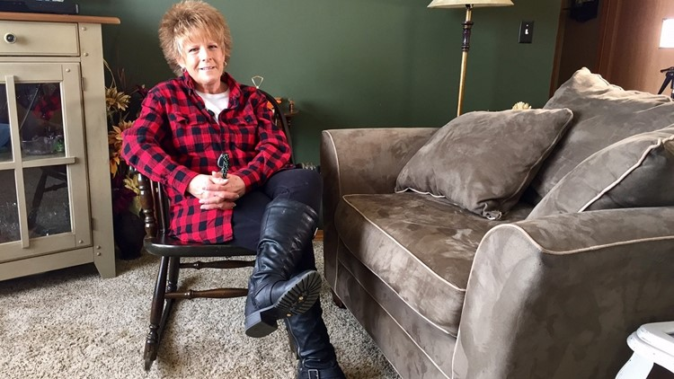 Lorri Pollock had questioned the size of her son's first aid kit