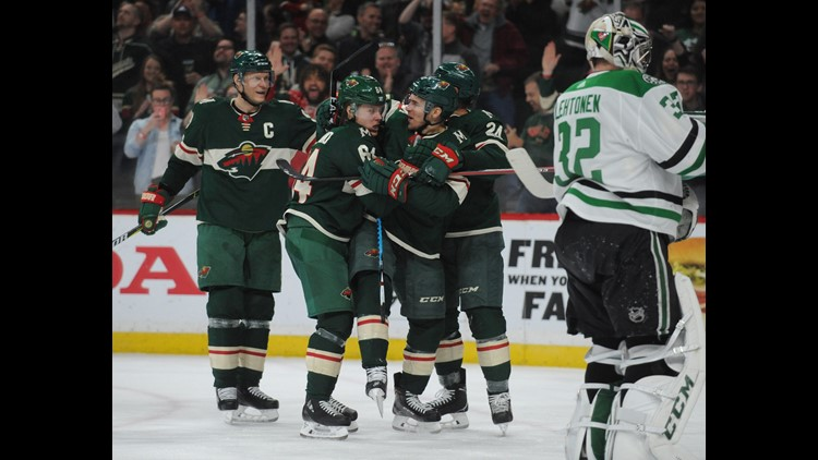 Dumba's sizzling 2nd period leads Wild past Stars