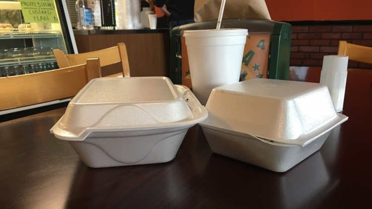 A bill moving quickly at the State Capitol would bar cities from banning polystyrene takeout containers, and would retroactively nullify existing ordinances in Minneapolis and St. Louis Park.
