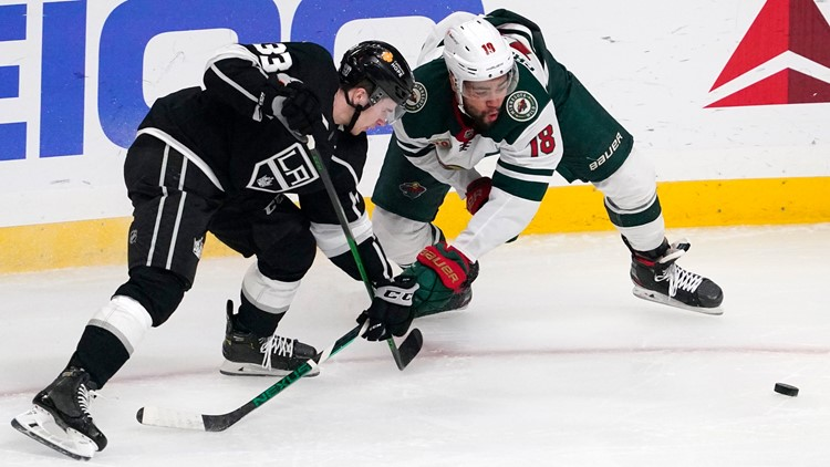 Kings blank Wild 4-0 in comeback from COVID