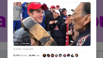 Both sides to the story: MAGA student and Native American elder explain viral video