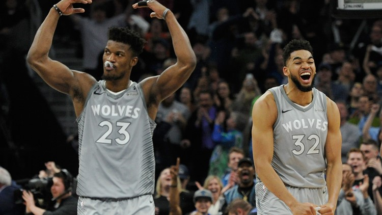 Timberwolves End 14-Year Absence from Playoffs, NBA Releases 1st-Round Schedule