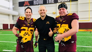 HHCIB? Fielding punts with PJ Fleck