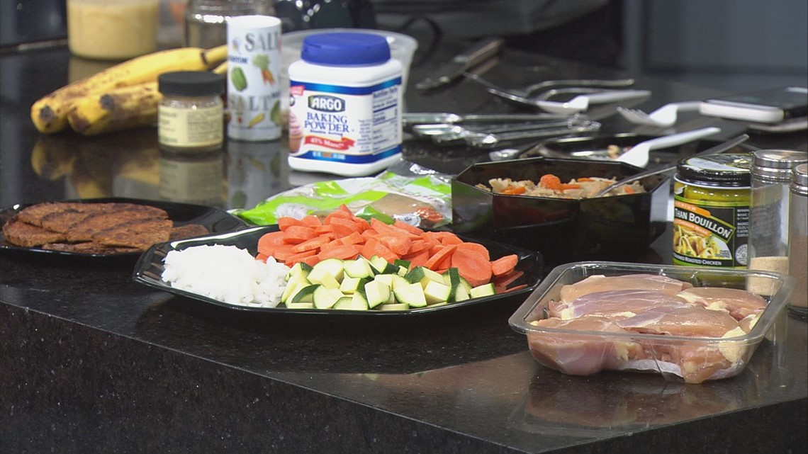 KARE in the Kitchen: Healthy Crockpot Chicken Soup