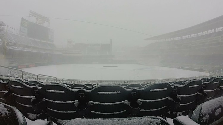 The Twins are rescheduling the three canceled games for this summer -- when, one should hope, the weather will be more suitable for baseball.