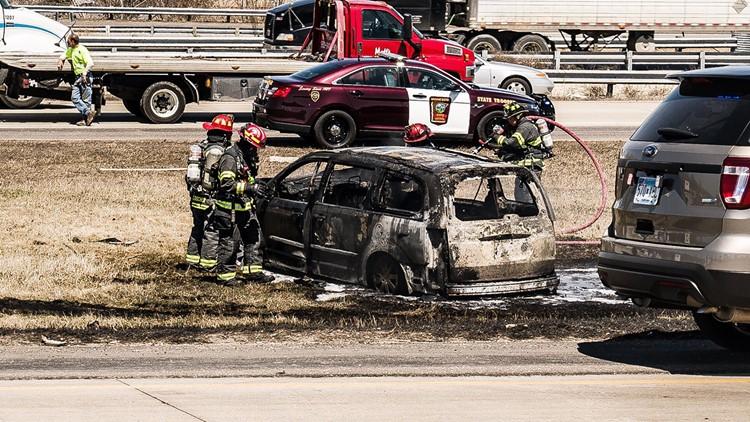 Eden Prairie woman dies in vehicle fire on Highway 5