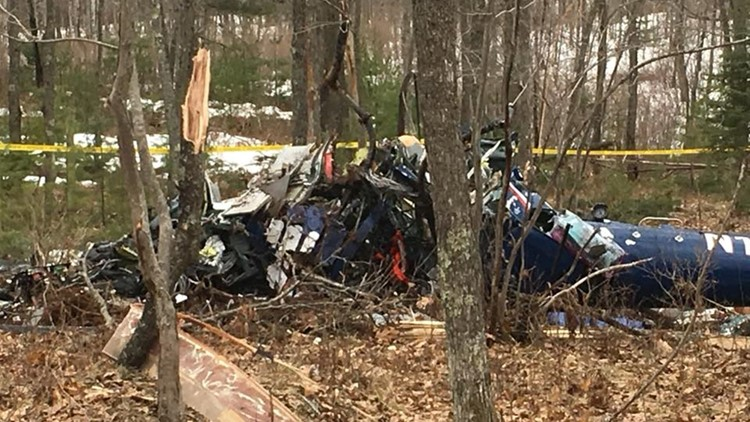 The Eurocopter AS350 helicopter left Madison on its way to Howard Young Medical Center and crashed about 12 miles south of the destination.
