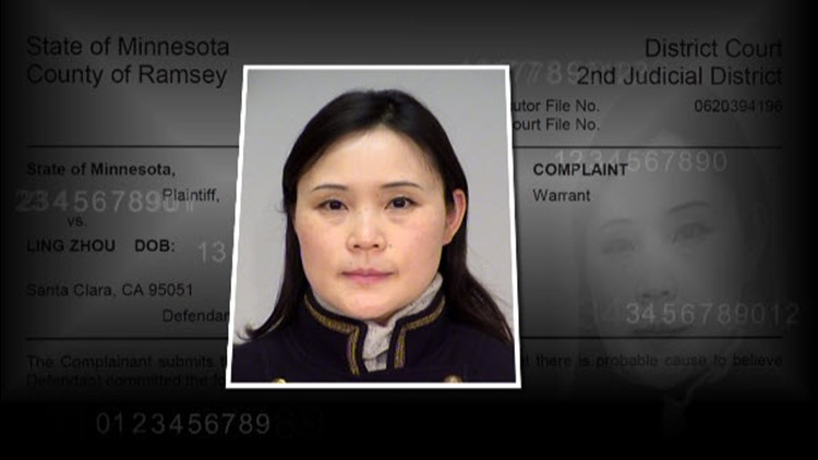 Ling Zhou was convicted of aiding in the email scheme.
