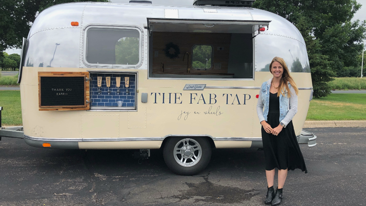 'The Fab Tap' mobile bar brings the party to you
