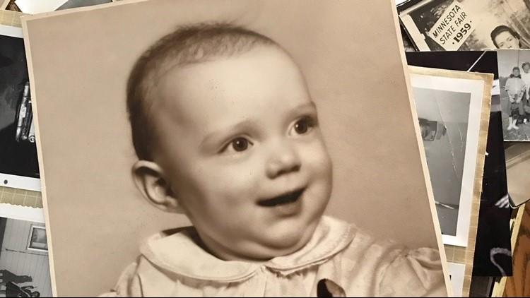 Baby photo of Linda Jourdeans