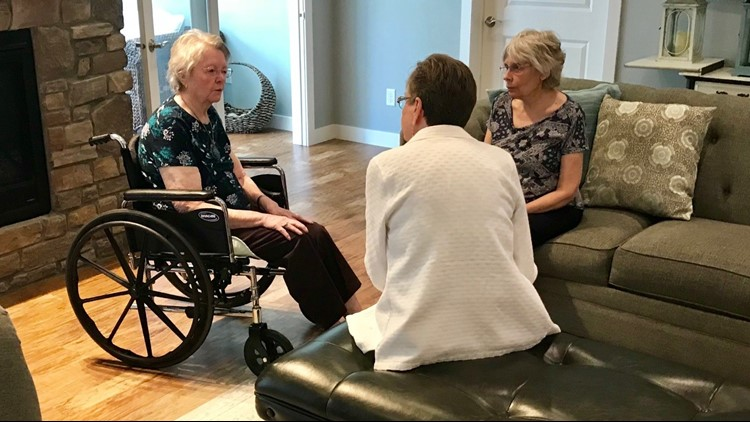 Marianne Mayer, 99, gets a visit from the daughter she raised and the daughter to whom she gave birth
